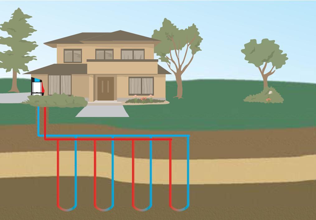 Geothermal heating & cooling, heat pumps, heat exchange ...