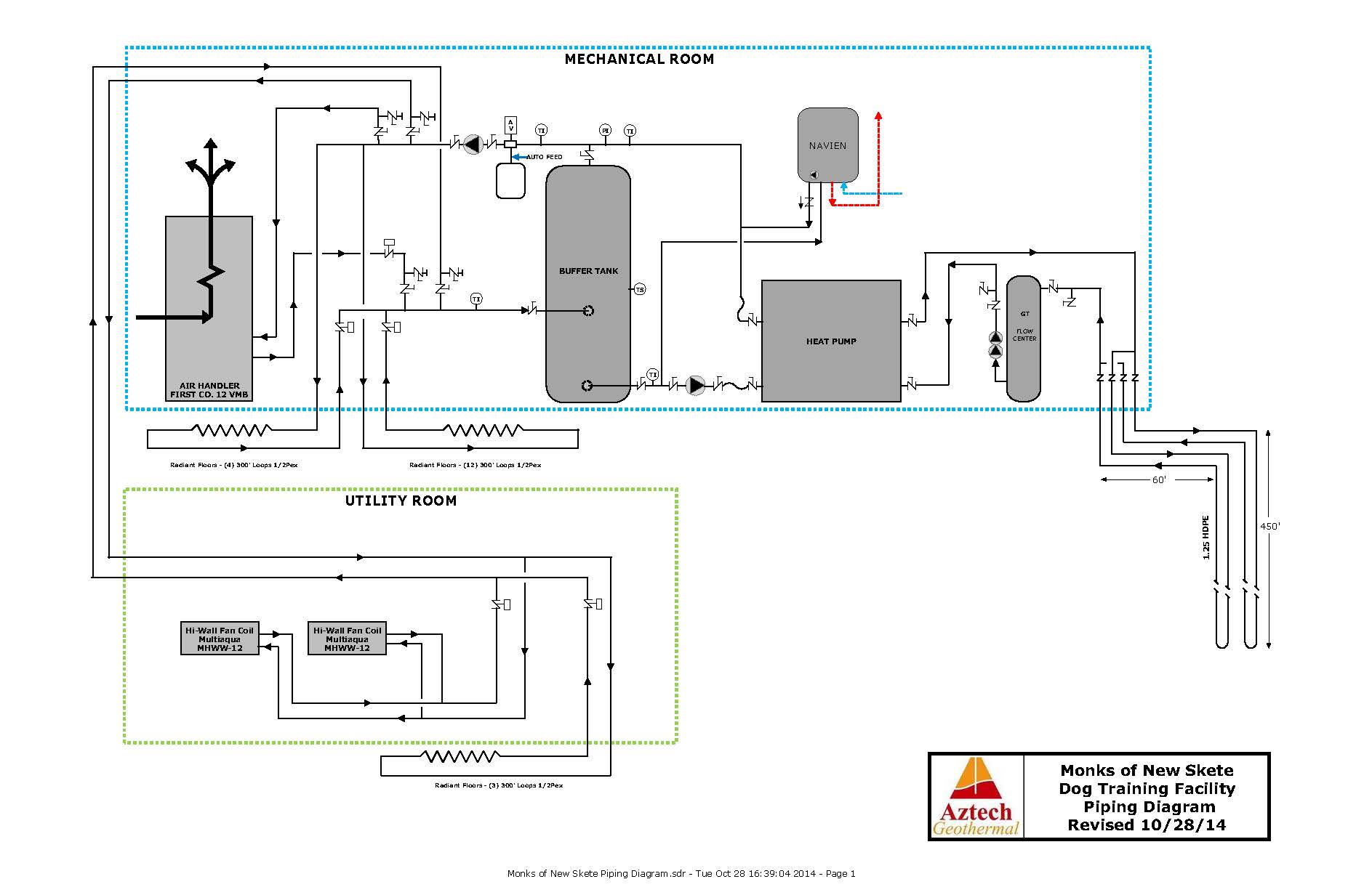 Geothermal Piping Diagram - Wiring Diagrams Description